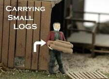 Logger Lugging Logs Ho Scale Working Figures Finished Ho Scale Character