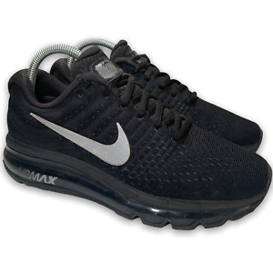 Nike Air Max 2017 Women's Sneakers Shoes Size 8.5 Anthracite Black 849560-001