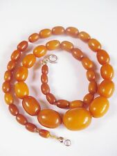 Antica CATENA succinico, Real Natural Amber Butterscotch Necklace, 21,31 G