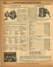 1926 PAPER AD Car Auto Automobile Lock Sercuity System Neutralock HR Steer Post