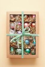 Anthropologie Vintage Inspired Nostalgic Mini Christmas Ornaments Set of 20 NEW