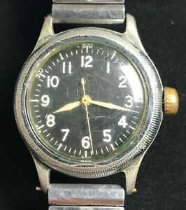 Bulova Men's Watch – Vintage Military Issue A-11 Standard (Circa 1944) - *USED*