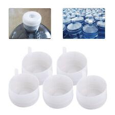 5pcs 3&5 Gallons 55mm Plastic Water Bottle Anti-Splash Snap On Cap Peel off Top