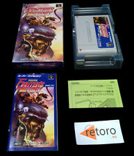 FIGHTER'S HISTORY Fighter Super Famicom Nintendo DATA EAST SNES COMPLETO Jap