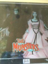 The Munsters Lily & Herman Barbie & Ken Gift Set~Great Condition~New~NRFB