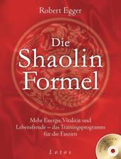 Die Shaolin-Formel (inkl. DVD) - Robert Egger - 9783778782477 PORTOFREI