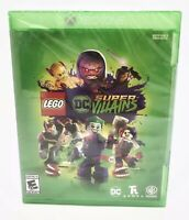 LEGO DC SUPER VILLAINS Microsoft XBOX ONE, Brand New FREE SHIPPING