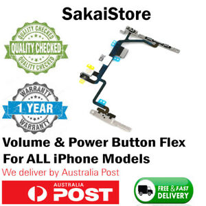 iPhone 6 7 8 PLUS X XR XS MAX OEM Power Sleep Volume Mute Button Flex Cable