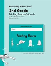 NEW Handwriting Without Tears 2nd Grade Printing Teacher's Guide Printing Power