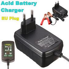 6V/12V 1.5A Smart Motorcycle Ebike Car Fast Lead Acid Battery Charger EU Plug