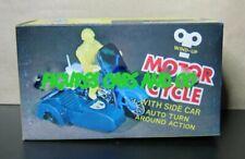 MOTO MECANIQUE  HARLEY DAVIDSON ELECTRA + SIDE CAR SIDECAR ACE TOY 1979