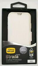 Case Otterbox Strada Leather Folio for Apple iPhone X - Soft Opal Beige White
