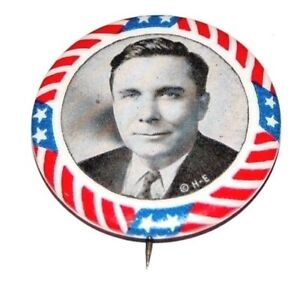1940 WENDELL WILLKIE PRESIDENT campaign pin pinback button political election