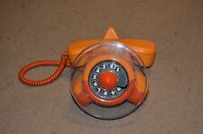 VTG 70's AIRPLANE ROTARY PHONE in EXCELLENT WORKING CONDITION