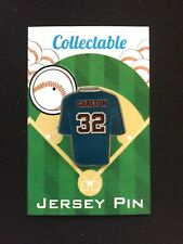 "Philadelphia Phillies Steve Carlton jersey lapel pin-Classic Collectable-""Lefty"""