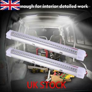 72 LED 12V ON/OFF Switch Interior Light Strip Bar 12 VOLT Car Caravan Van Bus UK
