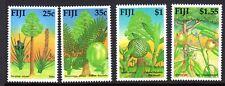 FIJI 1990 TREES STAMP SET