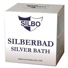 Silbo Silberbad Pflegemittel für Silber Tauchbad für Silberschmuck Münzen 150 ml