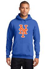 New York Mets Men's Hoodie Hooded Sweatshirt World Series Royal Small-4 XL Large