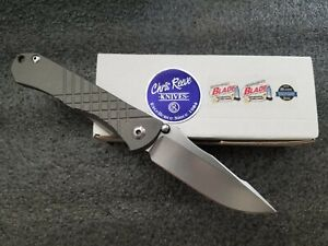 Chris Reeve Knives CRK Left Handed Leap Year 2/29/16 Umnumzaan, CPM-S35VN, Knife
