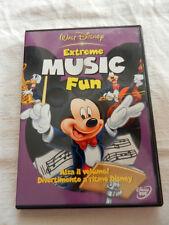 EXTREME MUSIC FUN Walt Disney DVD Cartoni Animati Film