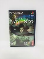 Matrix: Path of Neo (Sony PlayStation 2, 2005) Complete Manual Tested and Works