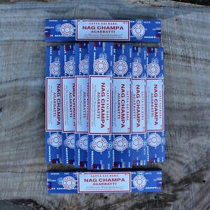 Genuine Satya Sai Baba Nag Champa Incense BULK BUY 2021 SERIES