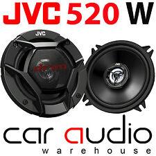 "JVC CS-DR520 5.25"" 13cm 2 Way 520 Watts a Pair Car Van Door Coaxial Speakers"