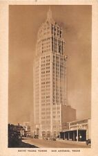 SAN ANTONIO TEXAS SMITH YOUNG TOWER~SA'S TALLEST~A & R AYERS ARCHITECTS POSTCARD