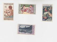 polynesia 1958 Sc 24/7 paintings,set        p1183