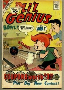 Li'l Genius #32-1961 vg Charlton Little Genius