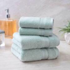 2 PACK Charisma Soft 100% Hygro Cotton 4-piece Hand & Washcloth Towel Set Green