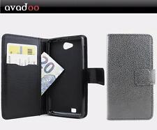 avadoo® Medion Life E4503 Flip Case Cover Tasche Schwarz Magnetverschluss Hülle