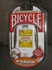 BICYCLE ILLUMINATED TOUCH SCREEN 3in1 POKER HANDHELD GAME TECHNO SOURCE BX-4 NEW