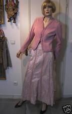 Ausgefallene Lederjacke Gr. 36 rosa seltene Farbe seltener Schnitt