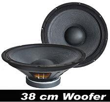 "38 cm/15"" DISCO-PA-MUSIKER-PARTY Lautsprecher Woofer"