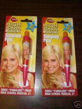 Set of 2 High School Musical 2 SHARPAY Singing Pen NIP