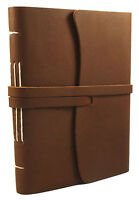 Rustic Genuine Leather Journal Diary Notebook Handmade Vintage Blank Sketchbook