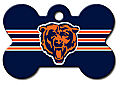 NFL CHICAGO BEARS PERSONALIZED PET ID TAG