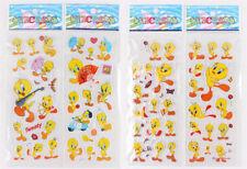 5 Sheets Cute Yellow Duck Bubble Stickers Cartoon Scrapbooking Stickers SRAU