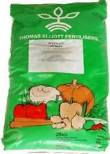 25 kg GARDEN LIME, GROUND LIMESTONE,Fertiliser, Soil, IMPROVEMENT, (FREEPOST)