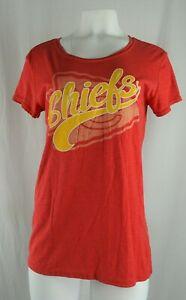 Kansas City Chiefs NFL Women's Scoop Neck Graphic T-Shirt