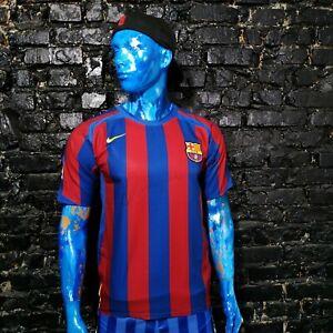 Ronaldinho Barcelona Rare Jersey Home shirt 2005-2006 Nike Camiseta Mens Size S