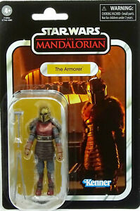 """THE ARMORER VC179 """"THE MANDALORIAN"""" STAR WARS THE VINTAGE COLLECTION HASBRO"""