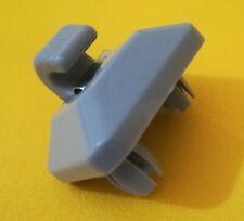 Clip Aletta Parasole COMPATIBILE AUDI A3 A4 A6 Q3 TT Grigio clips gancio GRIGIO