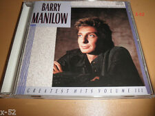 BARRY MANILOW greatest hits 3 CD ships LET'S HANG ON memory DIRT CHEAP oen voice