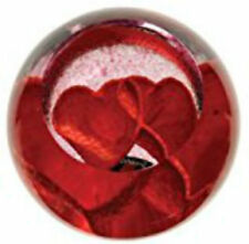 Red Hand Blown Crystal Art Glass