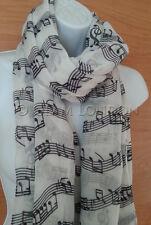 Musik Print Schal Noten Damen Mode Wrap/Stola/Wrap-Original