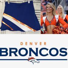 "Real Cheerleading Uniform  Skirt  Denver Broncos 26-28"" Waist"