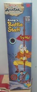 Nickelodeon Mattel Avatar the Last Airbender Aang's Battle Staff Glider w/ Sound